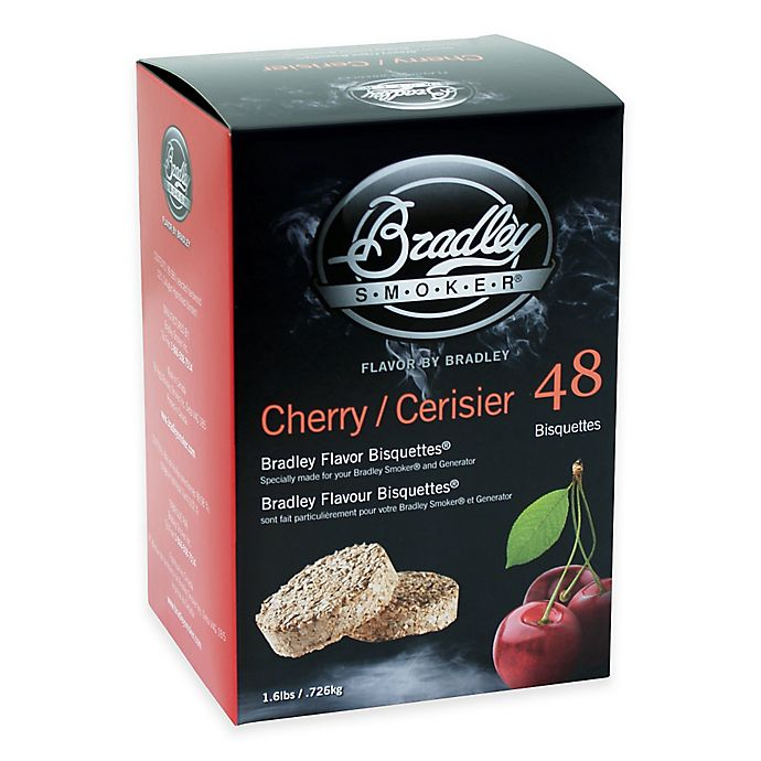Alternate image 1 for Bradley Smoker® 48-Count Cherry Bradley Flavor Bisquettes®