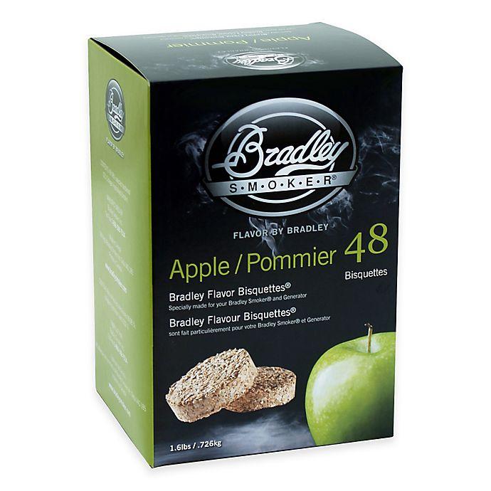 Alternate image 1 for Bradley Smoker® 48-Count Apple Bradley Flavor Bisquettes®