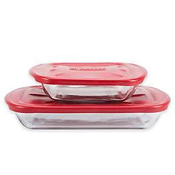 Anchor Hocking® 4-Piece Bakeware Set
