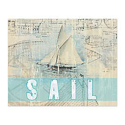 Pied Piper Creative Gone Sailing Canvas Wall Art