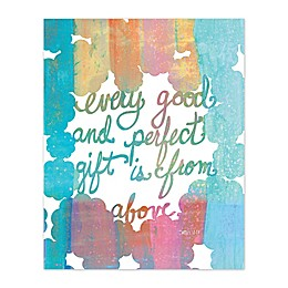 A Perfect Gift Canvas Wall Art