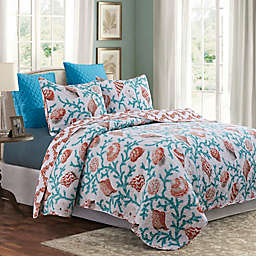 Hampton Shores Reversible Quilt Set