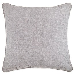 Wamsutta® Kenton European Pillow Sham in Grey