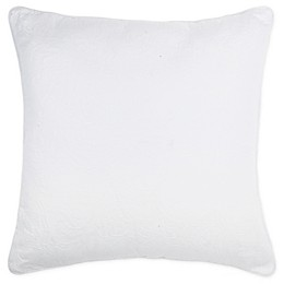 Wamsutta® Kenton Square Throw Pillow in Ivory