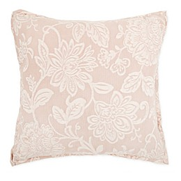 Wamsutta® Sutton Square Throw Pillow in Blush