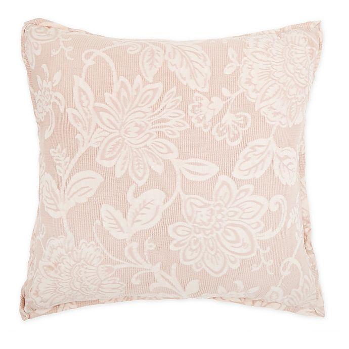 Alternate image 1 for Wamsutta® Sutton Square Throw Pillow in Blush