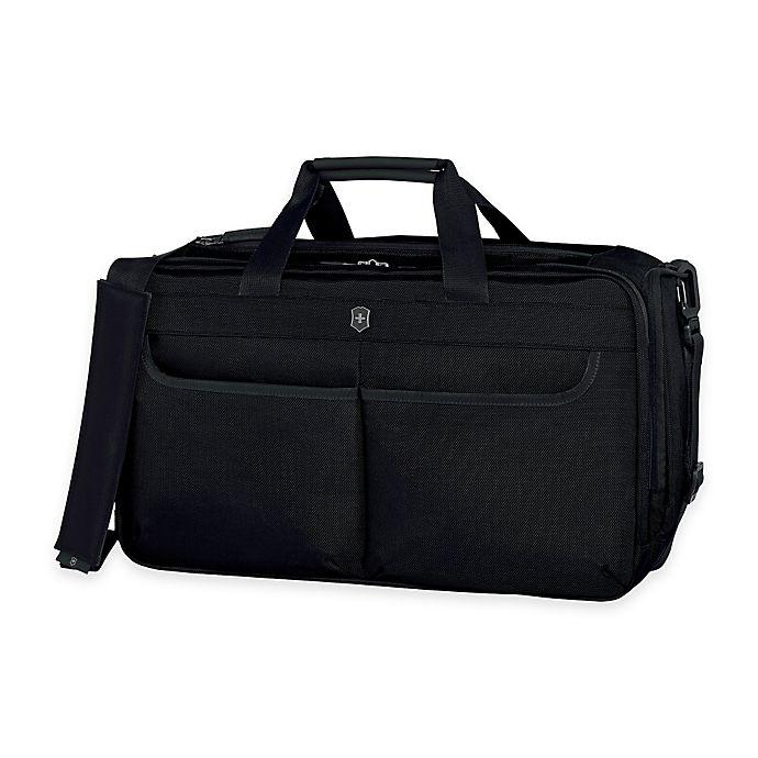 Alternate image 1 for Victorinox® WERKS 5.0 20-Inch Laptop Cargo Duffle Bag in Black
