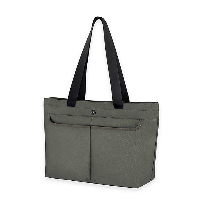 Alternate image 1 for Victorinox® WERKS 5.0 Zippered Shoulder Bag
