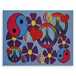 Fun Rugs® Lovely Peace 3-Foot 3-Inch x 4-Foot 10-Inch Area Rug