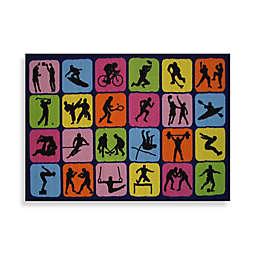 Fun Rugs™ Sports Symbol Rug