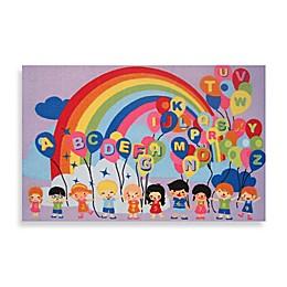 Fun Rugs® Multicolor Educational Balloons Rug