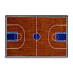 Fun Rugs® Basketball Court Accent Rug