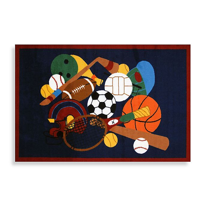 Alternate image 1 for Fun Rugs® Sports America 1-Foot 7-Inch x 2-Foot 5-Inch Accent Rug