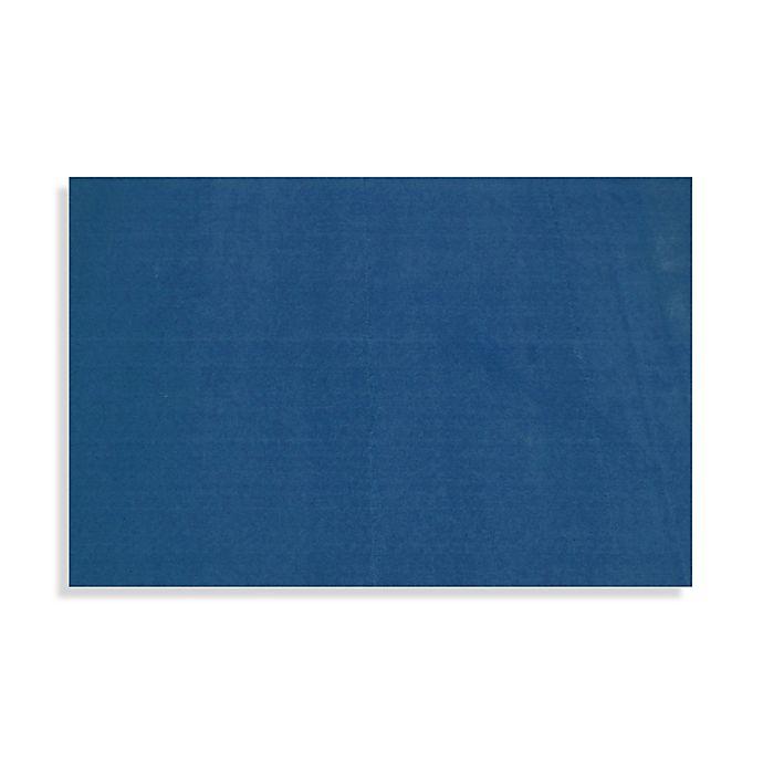 Alternate image 1 for Fun Kids™ LA Kids 4-Foot 3-Inch x 6-Foot 6-Inch Area Rug in Blue