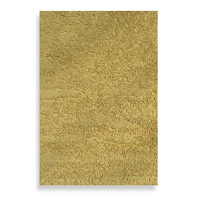 Alternate image 1 for Fun Rugs™ Shag Area Rug in Yellow