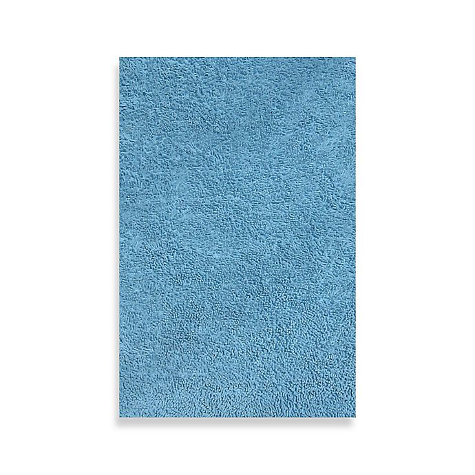 Alternate image 1 for Fun Rugs™ Shag 4-Foot 3-Inch x 6-Foot 6-Inch Area Rug in Light Blue