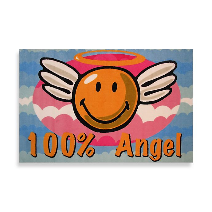 Alternate image 1 for Fun Rugs™ 19-Inch x 29-Inch Smiley Angel Rug