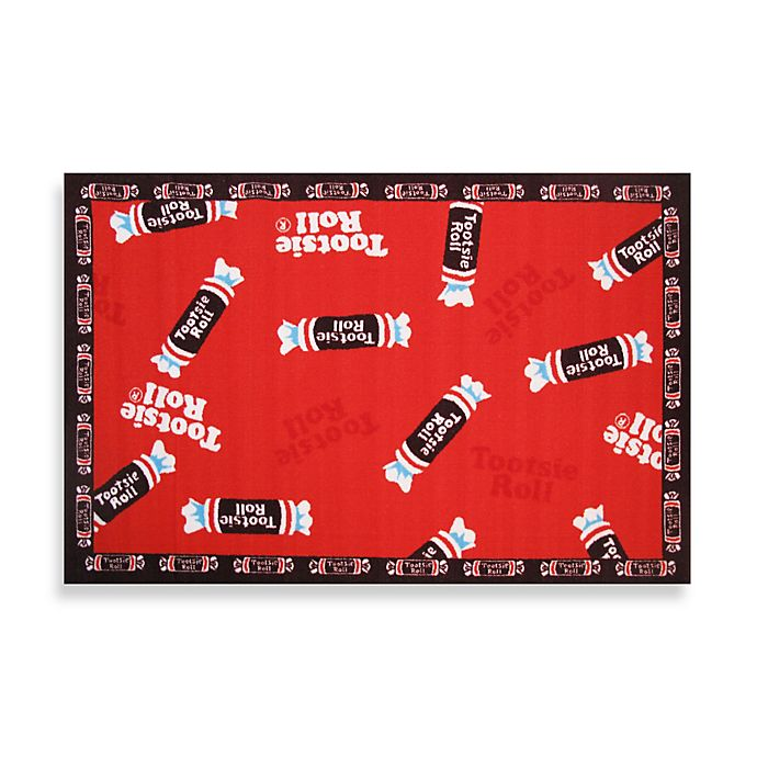 Alternate image 1 for Fun Rugs® Tootsie Roll Candy 1-Foot 7-Inch x 2-Foot 5-Inch Accent Rug