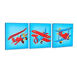 """Let's Fly"" Gallery Wrapped Canvas Wall Art"