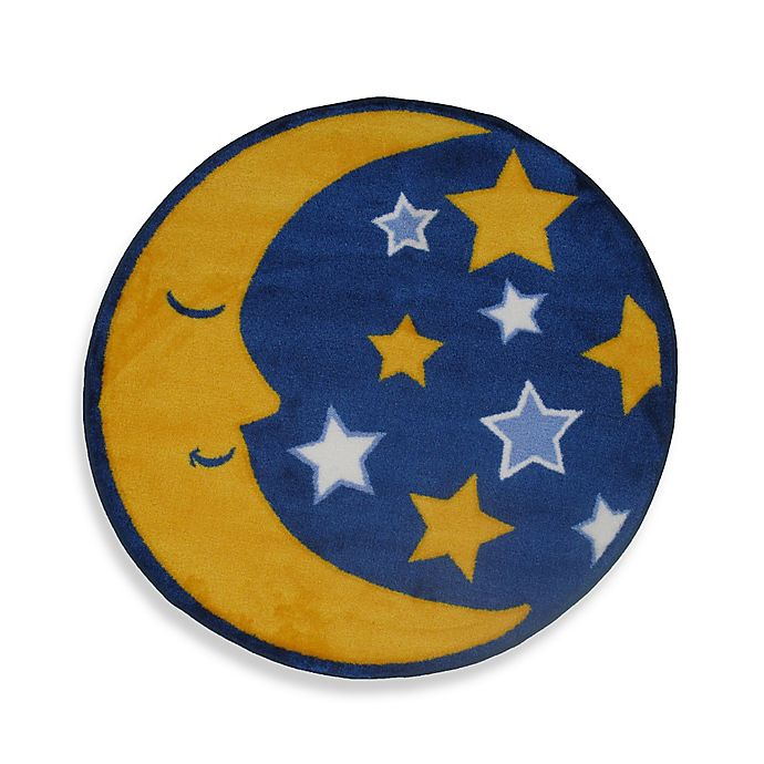 Stars 2 Foot 7 Inch Round Accent Rug
