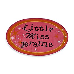 Fun Rugs 2-Foot 7-Inch x 2-Foot 3-Inch Little Miss Drama Rug