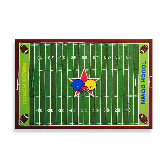 Alternate Image 1 For Fun Rugs Football Field 3 Foot