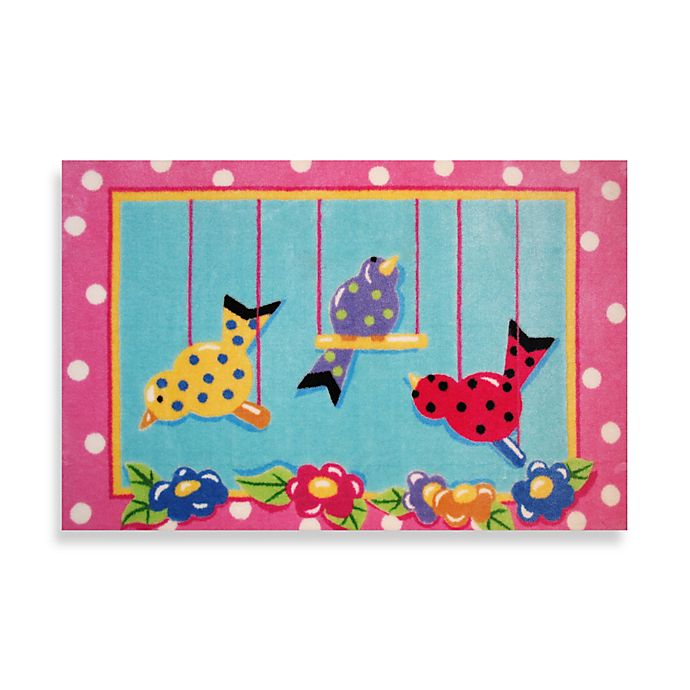Alternate image 1 for Fun Rugs™ Swingin' Chicks 3-Foot 3-Inch x 4-Foot 10-Inch Area Rug