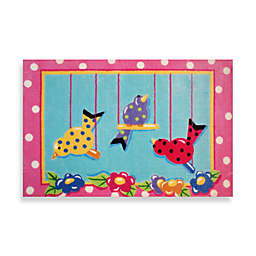 Fun Rugs™ Swingin' Chicks 3-Foot 3-Inch x 4-Foot 10-Inch Area Rug