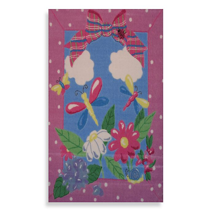 Alternate image 1 for Fun Rugs® Spring Time 3-Foot 3-Inch x 4-Foot 10-Inch Accent Rug
