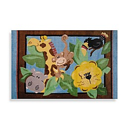 Fun Rugs™ In the Jungle 3-Foot 3-Inch x 4-Foot 10-Inch Area Rug