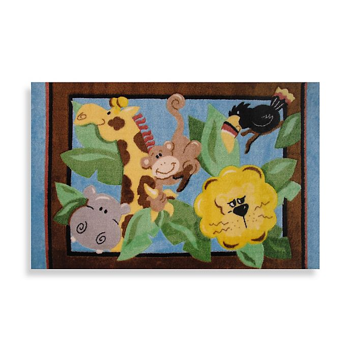 Alternate image 1 for Fun Rugs™ In the Jungle 3-Foot 3-Inch x 4-Foot 10-Inch Area Rug