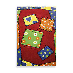 Fun Rugs™ Night Flash Collection 3-Foot 3-Inch x 4-Foot 10-Inch Area Rug
