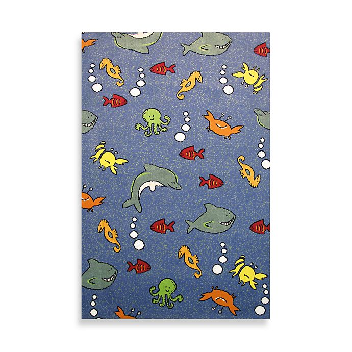 Alternate image 1 for Fun Rugs™ Night Flash Collection 3-foot 3-Inch x4-Foot 10-Inch Area Rug