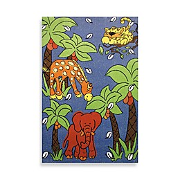 Fun Rugs™ Night Flash 3-Foot 3-Inch x 4-Foot 10-Inch Area Rug