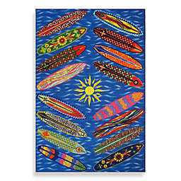 Fun Rugs™ 3-Foot 3-Inch x 4-Foot 10-Inch Go Surfing Area Rug