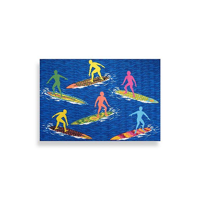 Foot 10 Inch Surfs R Us Area Rug