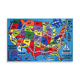 Fun Rugs™ Travel Fun 8-Foot x 11-Foot Rug