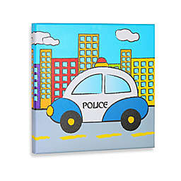 Police Gallery Wrapped Canvas Wall Art