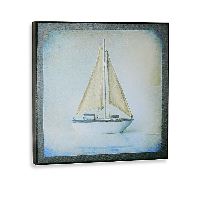 Alternate image 1 for Sailboat I Gallery Wrapped Canvas Wall Art