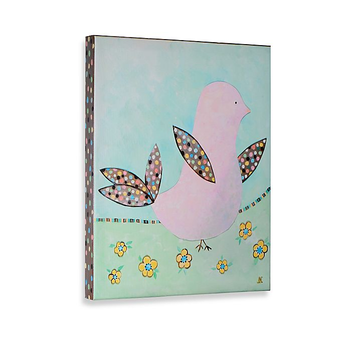 Alternate image 1 for Birds and Bloom II Gallery Wrapped Canvas Wall Art