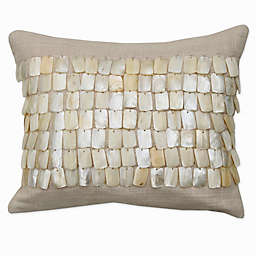 Catherine Malandrino Locks Beaded Throw Pillow