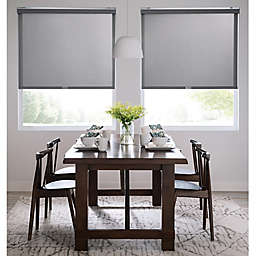 Real Simple® Cordless 5% Open Solar Roller Shade