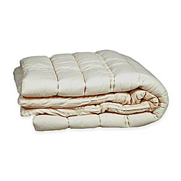 Sleep & Beyond Wool California King Mattress Topper in Ivory