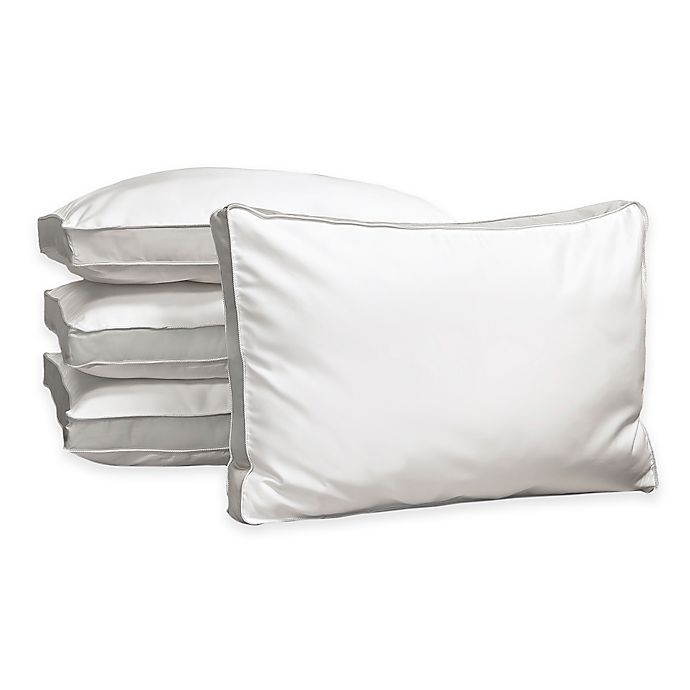Alternate image 1 for Cotton Down Alternative Pillow in White (Set of 4)