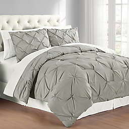 Swift Home Pintuck Reversible Comforter Set