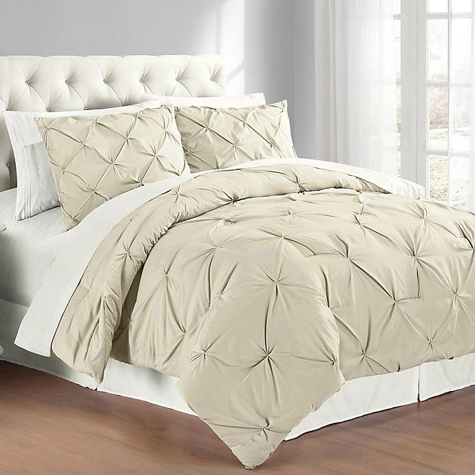 b537d91edf Pintuck Comforter Set | Bed Bath & Beyond