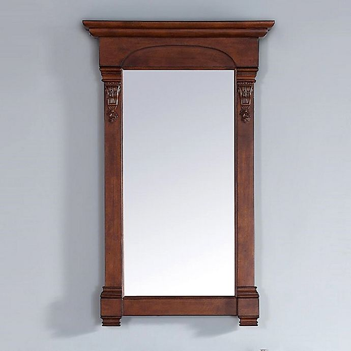 Alternate image 1 for James Martin Furniture Brookfield 26-Inch Mirror in Warm Cherry
