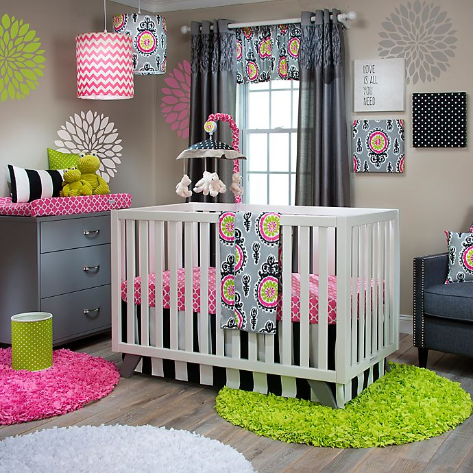 Alternate image 1 for Glenna Jean Pippin Crib Bedding Collection