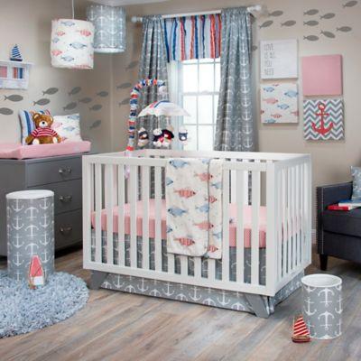 Glenna Jean Fish Tales Crib Bedding