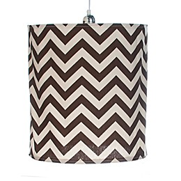Glenna Jean Traffic Jam Chevron Hanging Drum Shade Kit